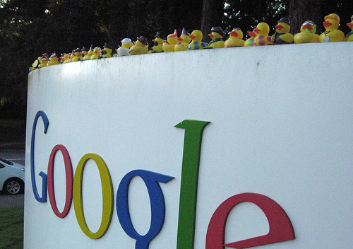 Google Rubber Duckies