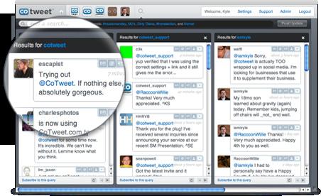 CoTweet Twitter Client Screenshot