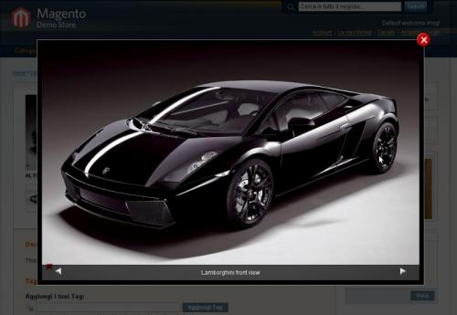 Magento LightBox Image Display